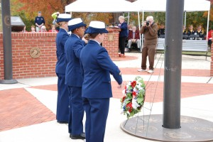 Veterans Day Observed At County Memorial