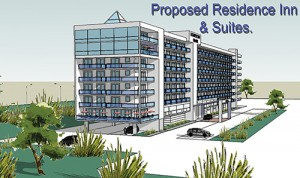 Marriott Hotel's Updated Site Plan Clears Commission