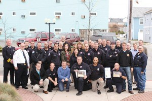 Mayor, Council Honors Long-Time OCFD Employees