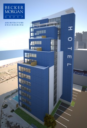 Major Hotel Addition Planned For Ocean City; 15-Story Structure Would Be Connected To Existing Quality Inn