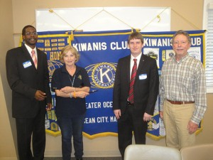 Kiwanis Club Of Greater Ocean Pines-Ocean City Welcome Representatives From Delmarva Council Of Boy Scouts