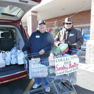 Community Church At Ocean Pines Sponsors Food Drive At Local Food Lion