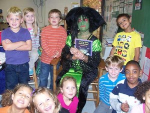 Mysterious Witch Visits Showell Elementary