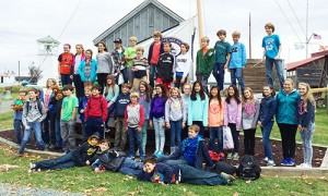 Worcester Prep Sixth Grade Students Travel To St. Michaels