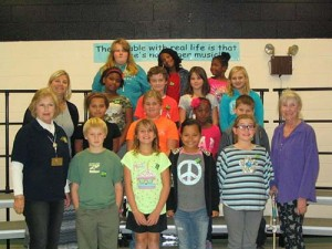 Buckingham Elementary K-Kids Club Inducts Officers And Members