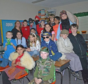 Worcester Prep Fourth Grade Class Dress As Their Favorite Book Characters