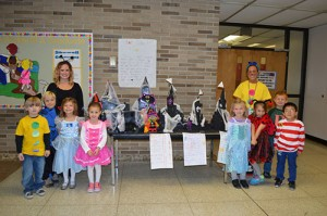 Showell Elementary Kindergarten Classes Create Haunted Houses