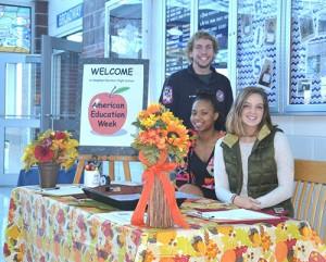 SD High School Seniors Welcome Visitors During American Education Week
