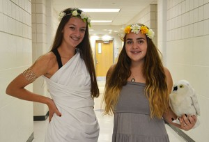 SD High School Mythology Students Dress Up During Halloween Celebration