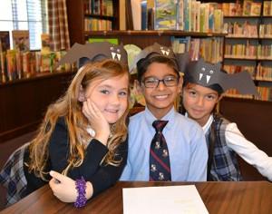 "First Grade ""Bats"" Enjoy Time In Worcester Prep's Guerrieri Library"