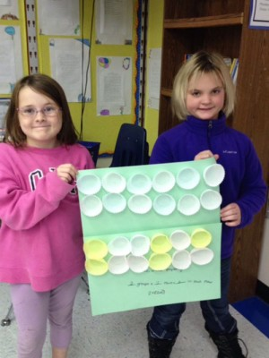 Showell Elementary Third Grade Students Create Models Of Associative Property