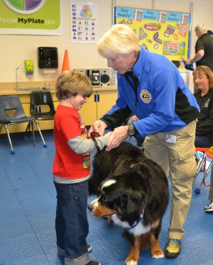 Worcester School Calls On Therapy Dog To Help With Student Communication