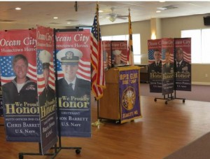 Boardwalk Military Banners To Return Next Summer