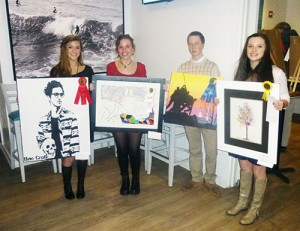 Ocean City/Berlin Optimist Club Holds 2015 High School Art Exhibit and Competition