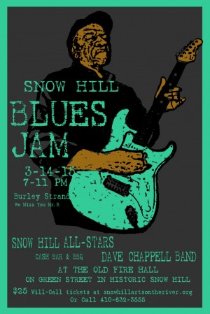 Saturday's Snow Hill Blues Jam To Honor Late Burley Strand