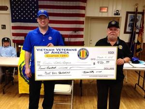 Vietnam Veterans Of America Donate $450 To Berlin Little League