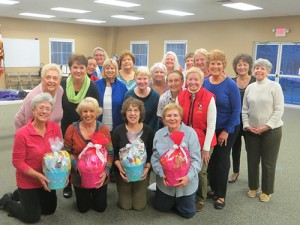 Delmarva Chorus Donates Spring Baskets To The Worcester GOLD Spring Basket Program