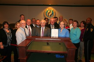 Worcester County Commissioners Presents Proclamation Recognizing April As National Child Abuse Awareness Month