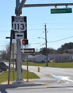 Countdown Crosswalk Added On Route 113