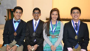 Worcester Prep Winners In The 2015 Optimist International Oratorical Competition Named