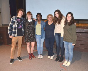 Renowned Australian Author Susanne Gervay Visits SD High