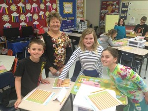 Showell Elementary Third Grade Students Learn About Finance From Junior Achievement Volunteers