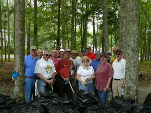 OC Power Squadron Participate In Annual Spring Cleanup Of Pintail Park