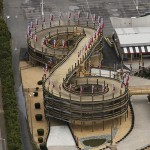 An aerial view of the newest addition to Jolly Roger's Speedworld is pictured.