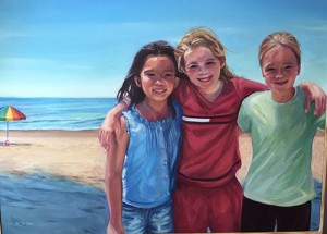 Salisbury Artist's Oil Painting Wins Congressman's Contest