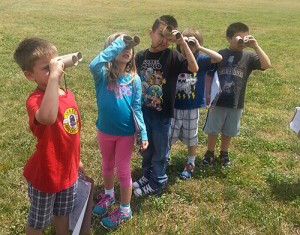 Students Use Observation Skills And Senses To Find Signs Of Spring