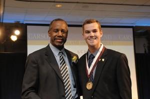 Dr. Ben Carson Congratulates Worcester Prep Junior Ryan Murphy