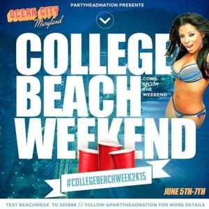 Ocean City Prepared For 'College Beach Week' Event, Typical June Activities