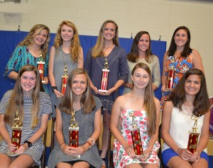 Worcester Prep Girls Honored For Excellence During Spring Season