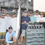 The total prize for last year's first-place white marlin -- a 78-pounder -- was nearly $1.3 million. Photo by sportfishermen.com