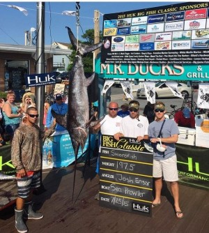 Memorable Offshore Trip Includes Big Swordfish, Lost Finger, Nice Payday
