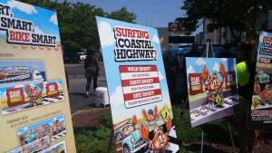 Walk Smart Campaign Kicks Into High Gear With Peak Beach Season's Arrival