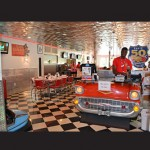 Located in the same building as the front desk at the Francis Scott Key, the Route 50 Diner is open 7 a.m.-2 p.m. and is family friendly with a 1950s theme.