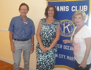 Ocean Pines Chamber Of Commerce Executive Director Guest Speaker At Kiwanis Club Meeting