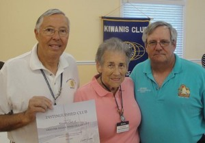 Kiwanis Club Of Greater Ocean Pines-Ocean City Receives Distinguished Club Recognition