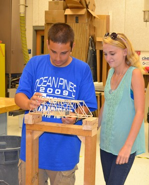 Decatur Students Apply Skills With Model Bridge Projects