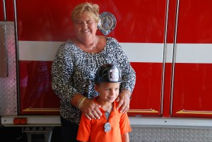 Young Hero Honored As Fire Chief For The Day For Saving Aunt's Life In Resort