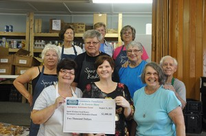 CFES Awards $2,000 Emergency Assistance Grant To Spirit Kitchen Food Pantry