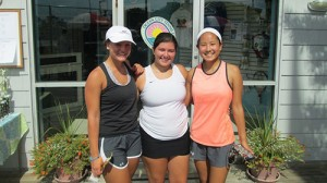 Third Leg Of High School Tennis Tourney Complete