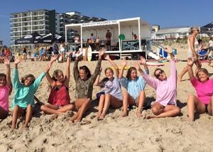 Gromfest Kids Surfing Festival Held In Ocean City