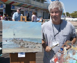Painter Documents Weekend's Inlet Rescue On Canvas