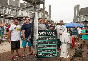 Two Million-Dollar Fish Win White Marlin Open's Top Prizes; Tuna Division Settled On Final Day
