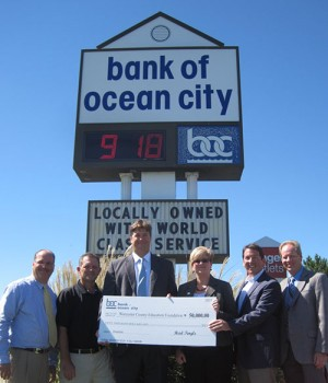 Bank Of Ocean City Donates $50K To Education Foundation