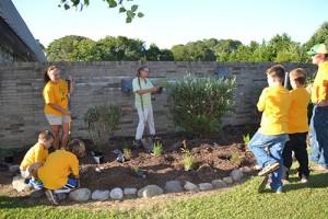 Community Groups Partner On Improving School Garden