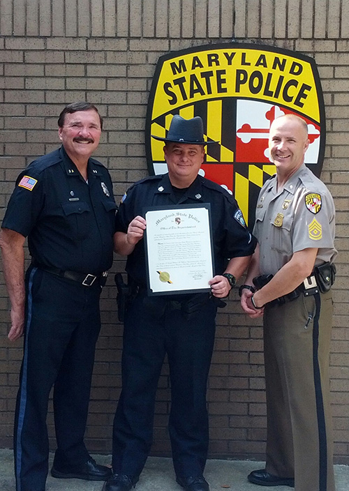 Ocean Pines Md >> 09/03/2015 | Officer Saluted For Saving Suicidal Man | News Ocean City MD