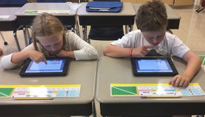 Third Graders At OC Elementary Use iPads To Solve Math Problems